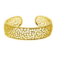 Buccellati Filidoro Gold Bangle Bracelet