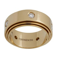 Chimento Diamond Yellow Gold Band Ring
