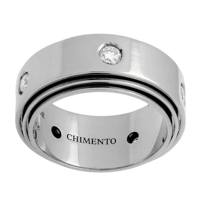 Chimento Diamond White Gold Band