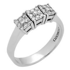 Chimento Past Present Future Diamond Ring