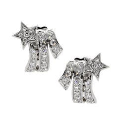Chanel Comete Shooting Star Diamond Earrings