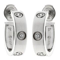 Cartier Love Six Diamond White Gold Earrings