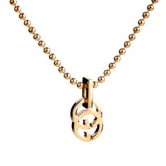 Gucci Running G Gold Necklace
