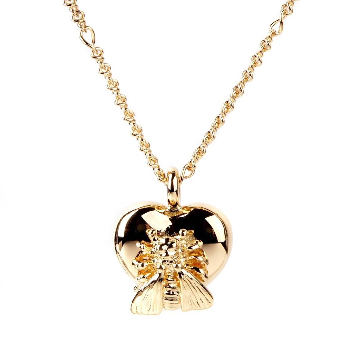 eff1505333f5e Gucci Le Marche des Merveilles Bee Gold Necklace