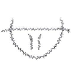 Tiffany & Co. Bubbles Diamond Platinum Suite
