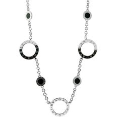 Bulgari Onyx White Gold Necklace
