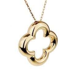 Van Cleef & Arpels Vintage Alhambra Gold Necklace