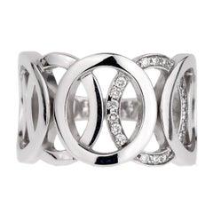 Audemars Piguet Millenary Diamond White Gold Ring