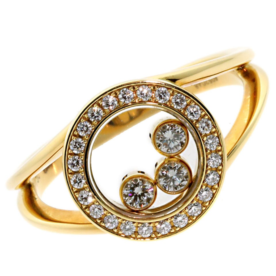 Happy Diamond Ring Chopard