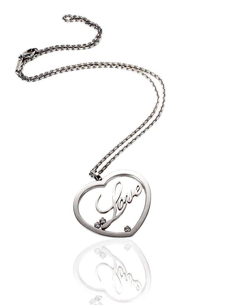 Chopard Happy Diamond Gold Heart Necklace 3