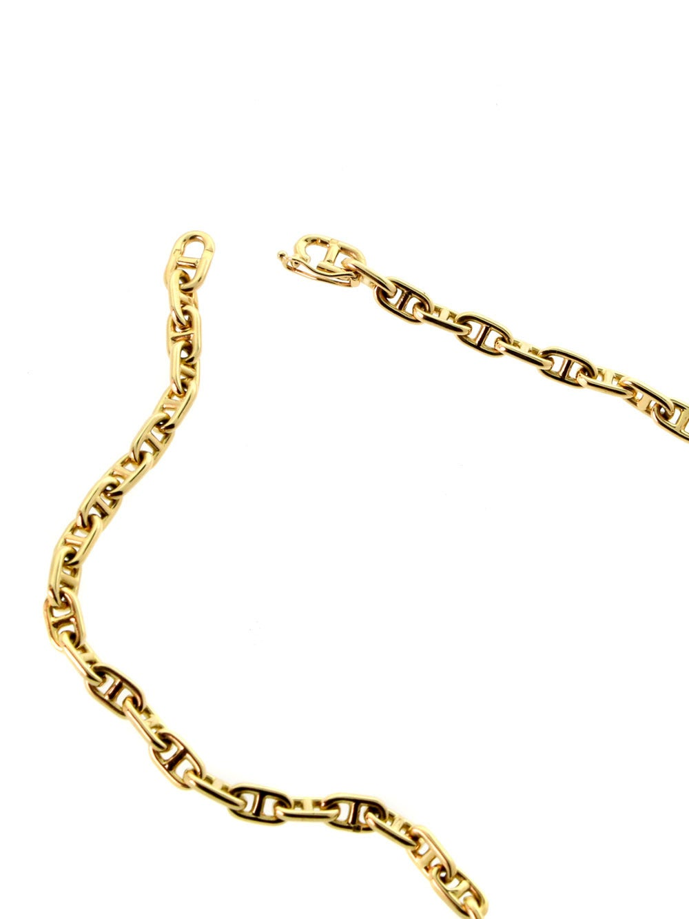 Hermes Gold Choker Necklace At 1stdibs