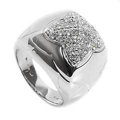 Bulgari Pyramide Diamond White Gold Ring