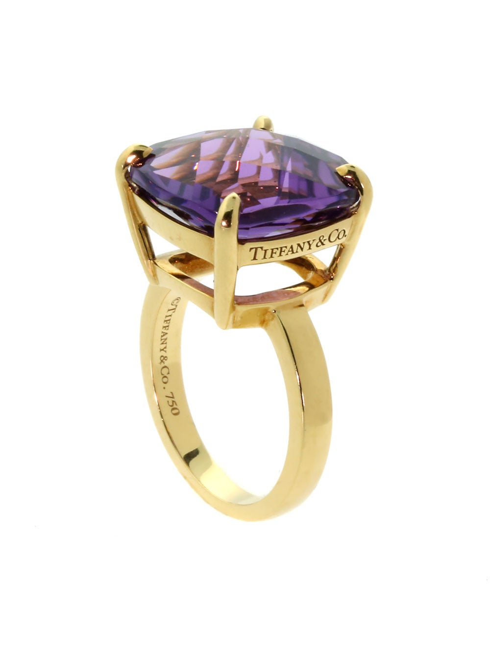 and co amethyst gold cocktail ring at 1stdibs