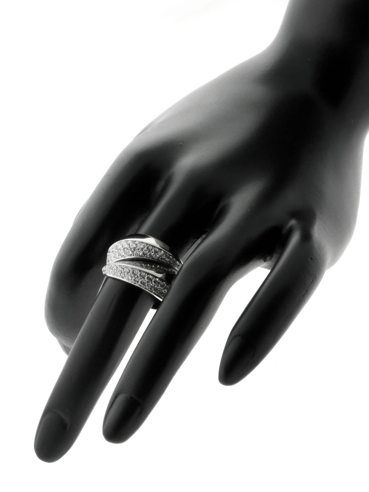 Cartier Panthere Diamond Gold Ring 3
