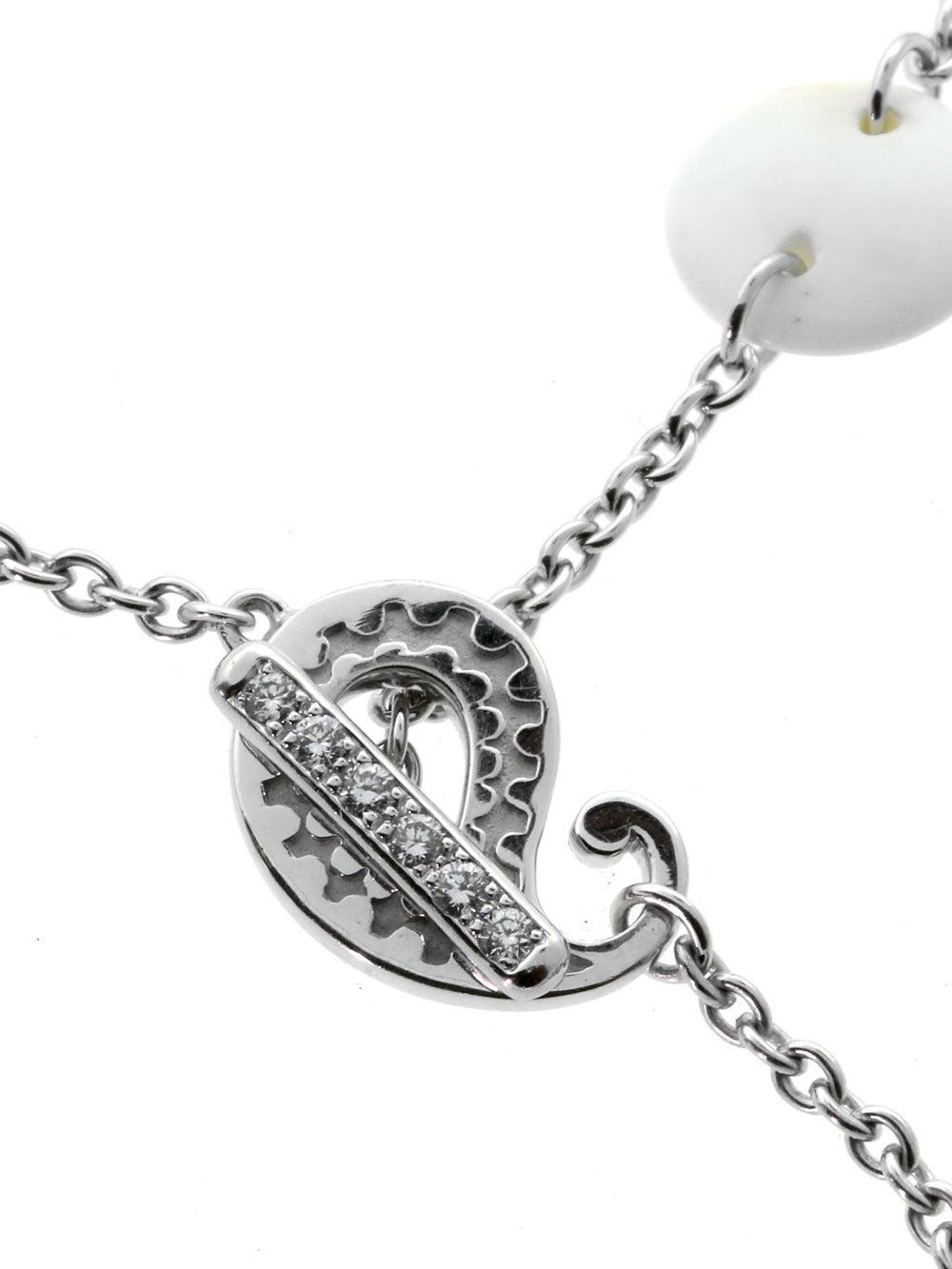 Carrera y Carrera Aquamarine Diamond Gold Lariat Necklace 3