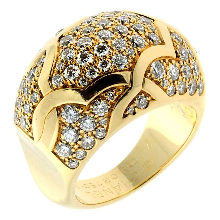 Chanel Camellia Diamond Ring Price