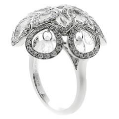 Boucheron Briolette Diamond White Gold Ring
