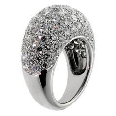 Van Cleef & Arpels Diamond Gold Cocktail Ring