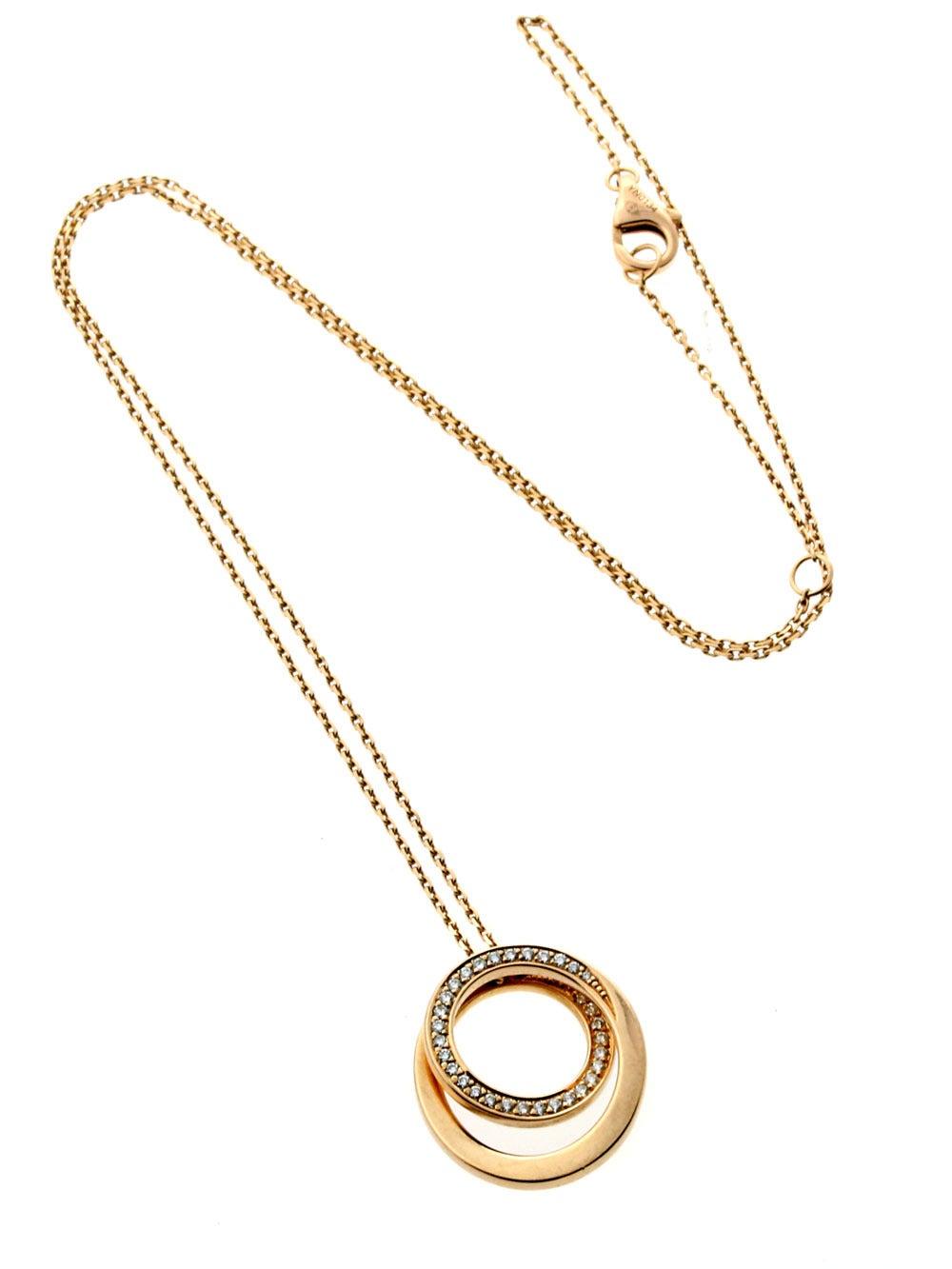 Cartier Nouvelle Vague Diamond Gold Necklace 2