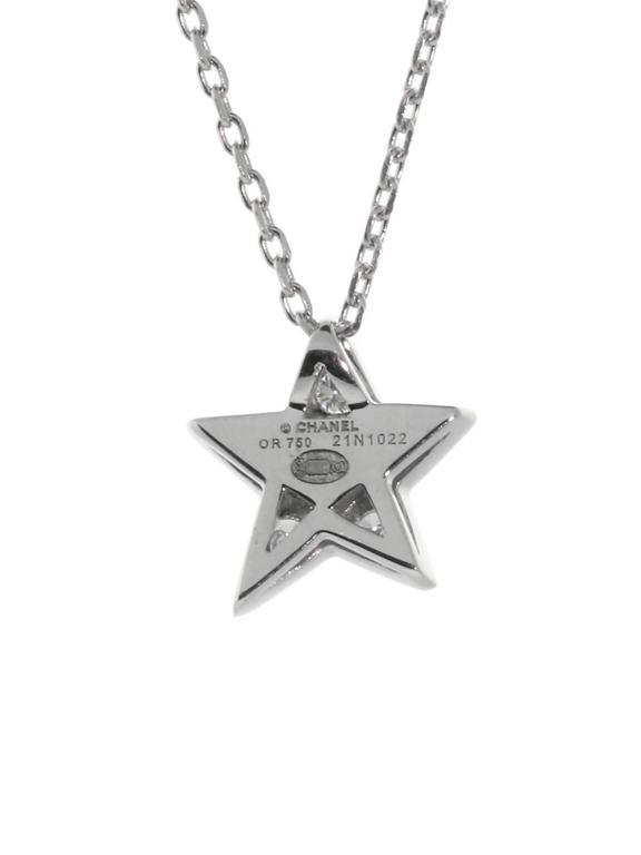 Chanel Comete Diamond Gold Necklace 2