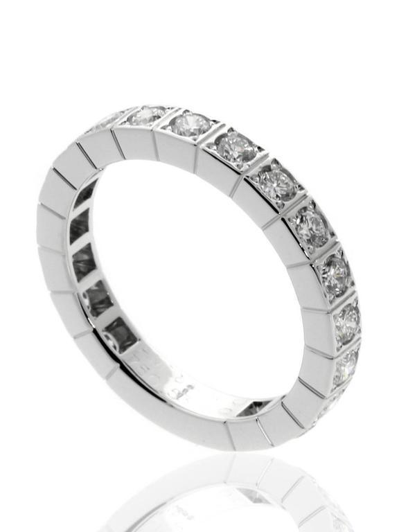 Cartier Diamond Gold Eternity Band  2