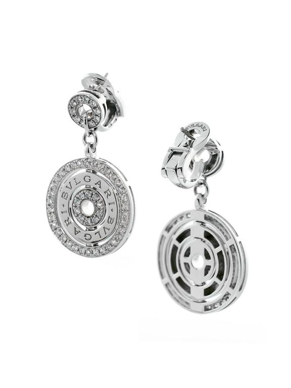 Bulgari Astrale Diamond Gold Earrings 2