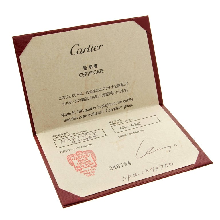 cartier panthere diamond drop earrings for sale at 1stdibs