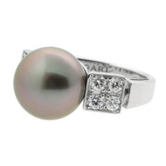 Bulgari Lucea Pearl Diamond Ring