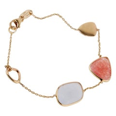 Zoccai Quartz Yellow Gold Bracelet