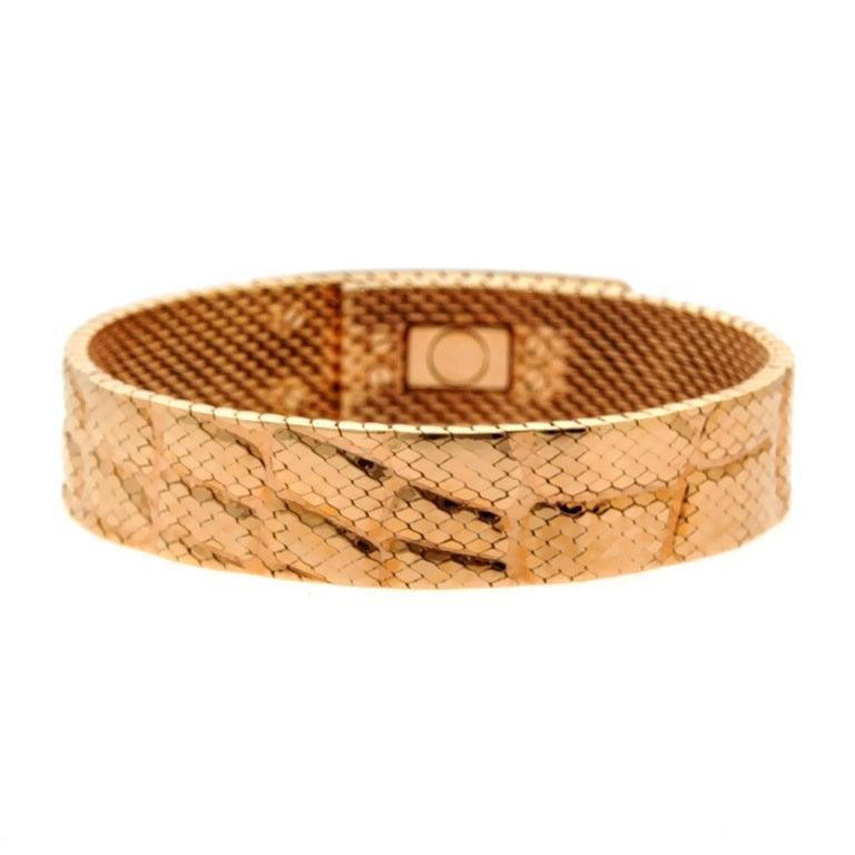 Hermes Kelly Roségold Armband 4