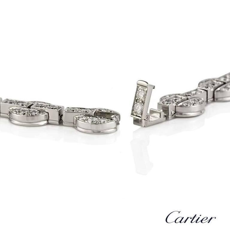 Rare Cartier Orissa Diamond and Pearl Necklace For Sale 1
