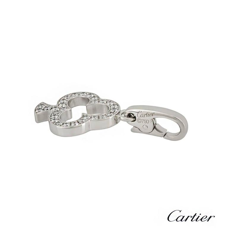 Cartier Club Diamond Charm 2