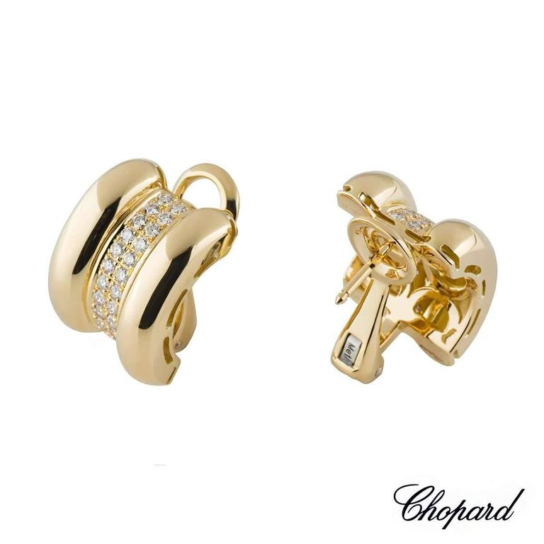 Chopard La Strada Diamond Earrings 2
