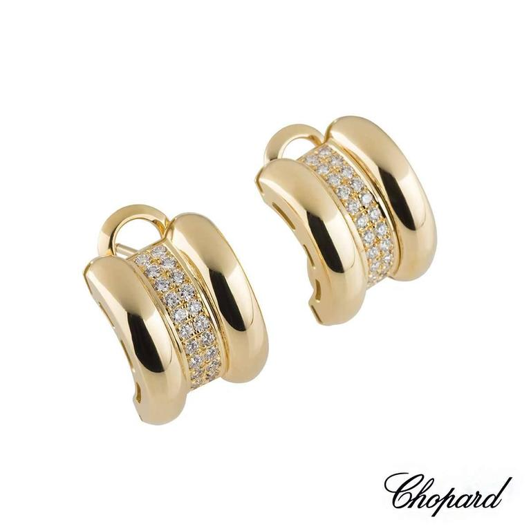 Chopard La Strada Diamond Earrings 3