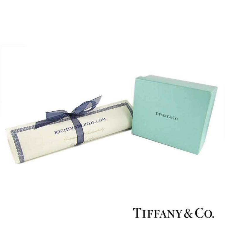 Women's Tiffany & Co. Legacy Diamond Platinum Pendant For Sale