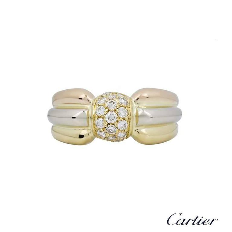Cartier Trinity Diamond Dress Ring 2