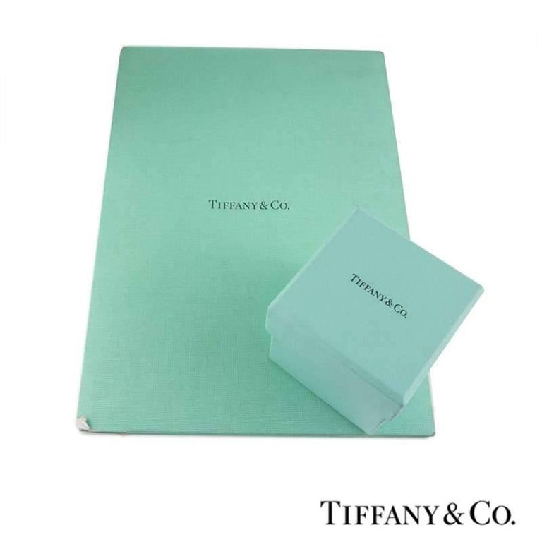 Tiffany & Co. Round Diamond Platinum Ring 1.05 Carat GIA Certified 4