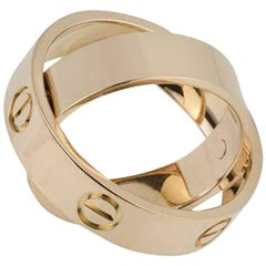 Cartier Rose Gold Spicy Love Ring