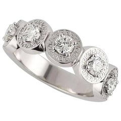 Versace Diamond Dress Ring