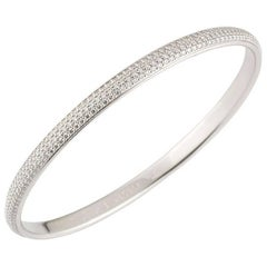 Cartier Diamond Bangle 4.05 Carat