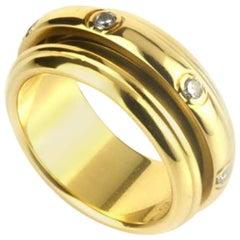 Piaget Possession Diamond Yellow Gold Band Ring