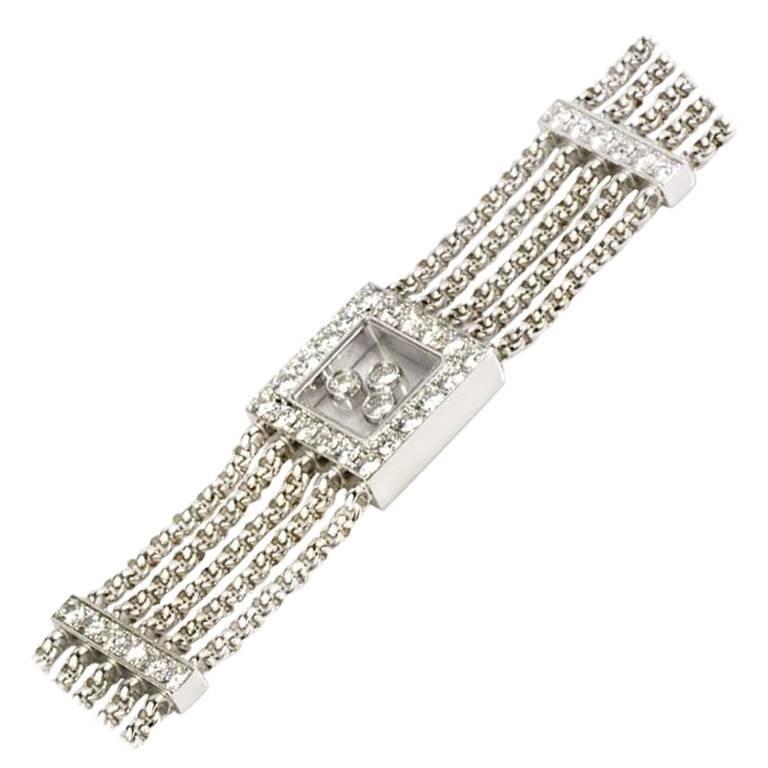 Chopard Diamond Happy Curves Bracelet