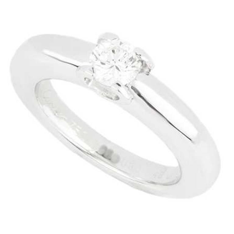 1f5197df3dfb9 Cartier C de Cartier Diamond Engagement Ring .33 Carat For Sale at ...