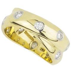 Tiffany & Co. Etoile Diamond Crossover Ring 0.33 Carat