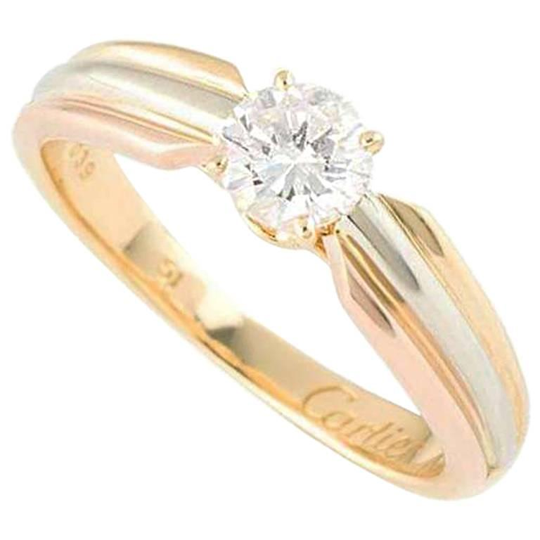 Cartier Trinity de Cartier Diamond Engagement Ring For Sale