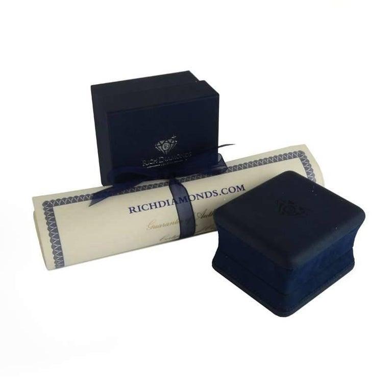 Women's Diamond Eternity Band Ring 1.90 Carat For Sale