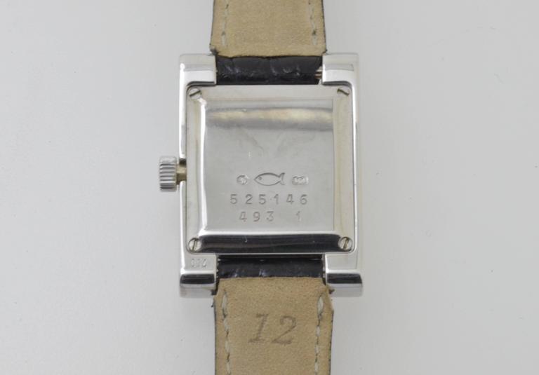 White Gold & Diamond Chopard H Ladies Wristwatch 3