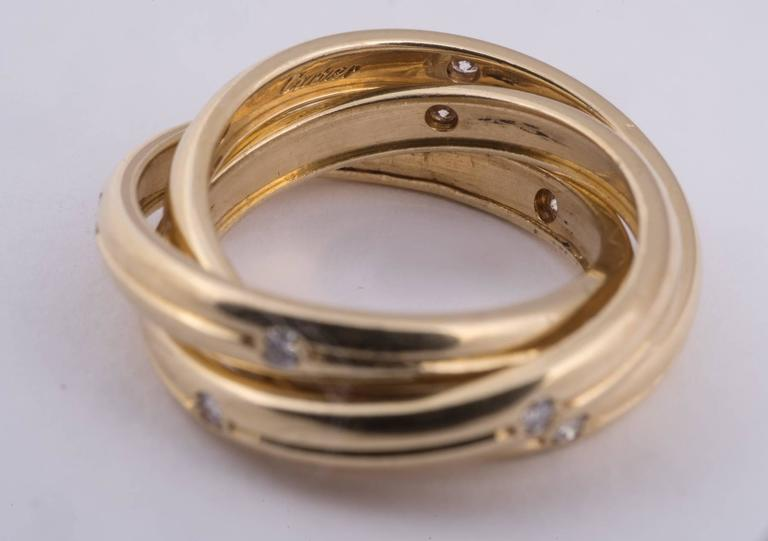 Cartier Constellation Ring In Excellent Condition In New Orleans, LA