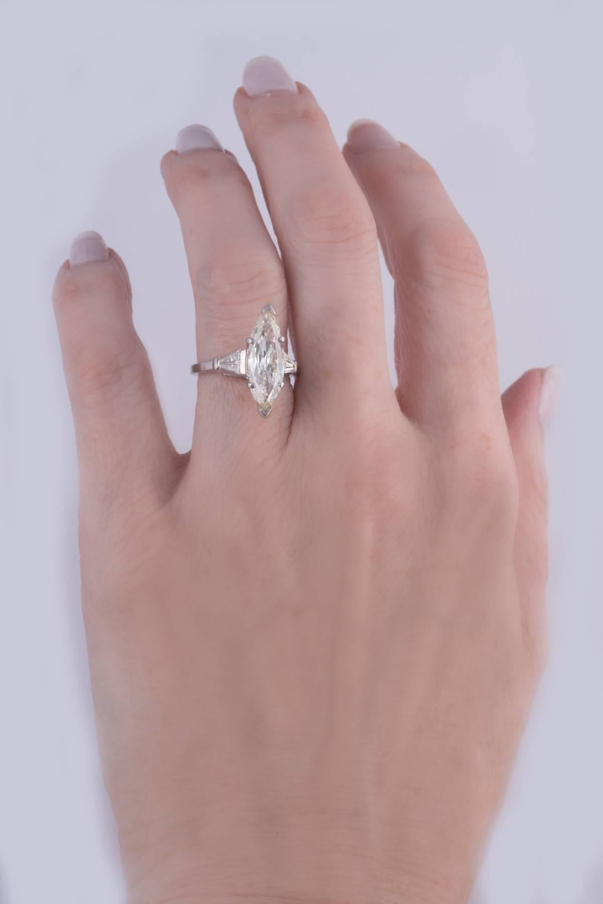 Fabulous Marquise Diamond Ring For Sale at 1stdibs