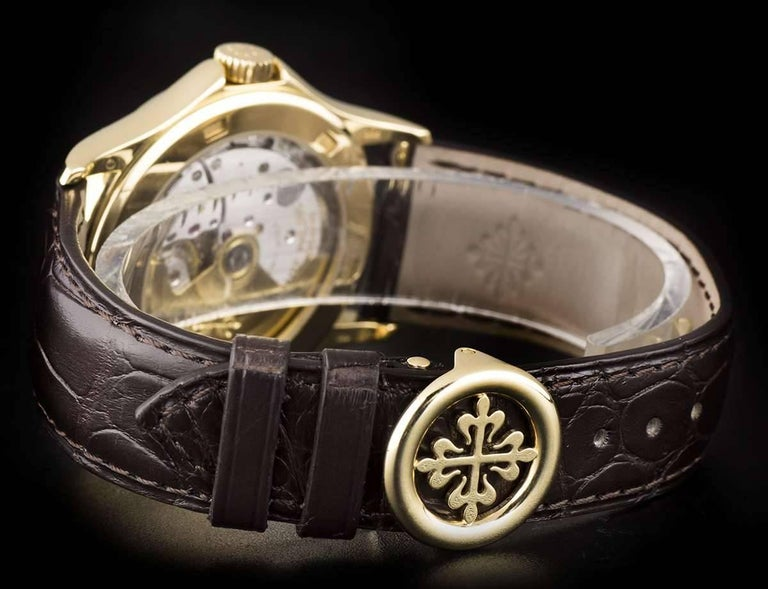Patek Philippe Tiffany & Co Calatrava Opaline Dial Automatic Wristwatch  For Sale 2